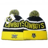 NRL Bonnet North Queensland Cowboys Jaune