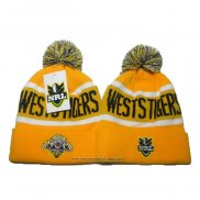 NRL Bonnet Wests Tigers Jaune