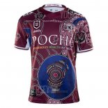Maillot Manly Warringah Sea Eagles Rugby 2020-2021 Commemorative