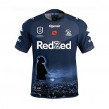 Maillot Melbourne Storm Anzac Rugby 2021 Commemorative