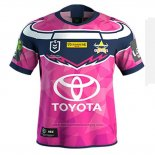 Maillot North Queensland Cowboys Rugby 2019-2020 Commemorative Rose