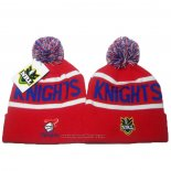 NRL Bonnet Newcastle Knights Rouge