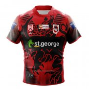 Maillot St George Illawarra Dragons 9s Rugby 2020-2021 Heros