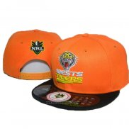 NRL Snapback Casquette Wests Tigers Orange