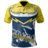 Maillot Polo North Queensland Cowboys Rugby 2021 Indigene