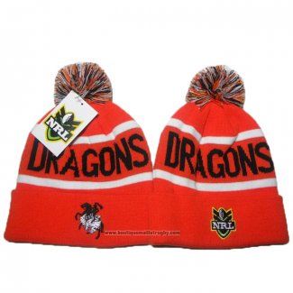 NRL Bonnet Dragons Orange