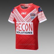 Maillot Enfant Tonga Rugby 2018-2019 Rouge