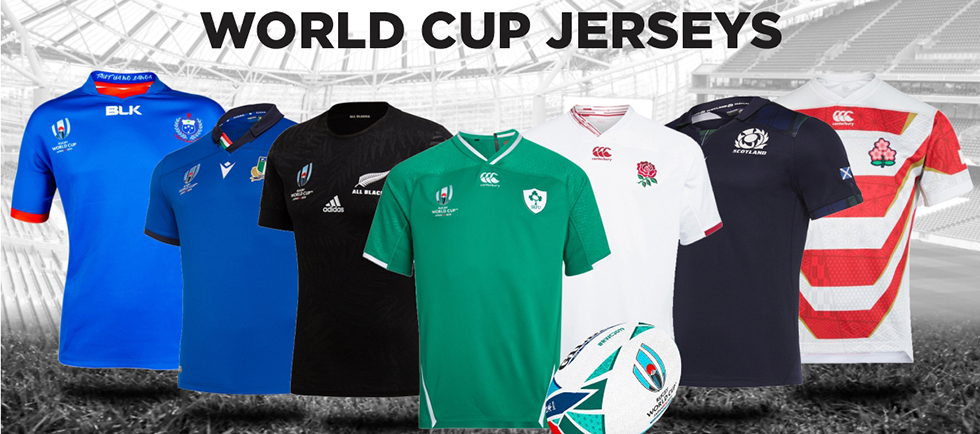 Maillot Rugby RWC 2019