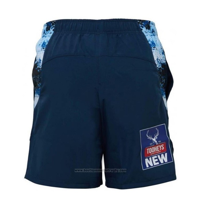 Shorts NSW Blues Rugby 2021 Bleu